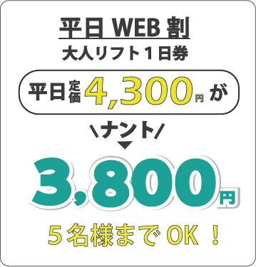 平日WEB割